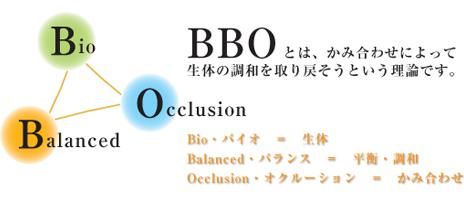 噛み合わせを整える治療-BBO